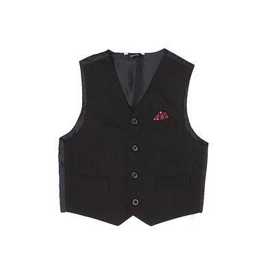 Vest: Black Jackets & Outerwear ...