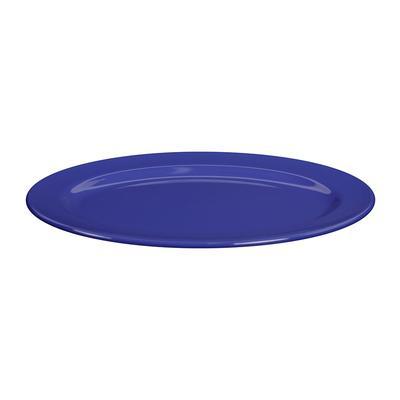 "Elite Global Solutions D1014OV-WP Melamine Platter - 14 1/2"" x 10 1/2"", Winter Purple"