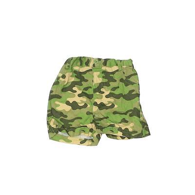Nickelodeon Khaki Shorts: Green Bottoms - Size 3-6 Month