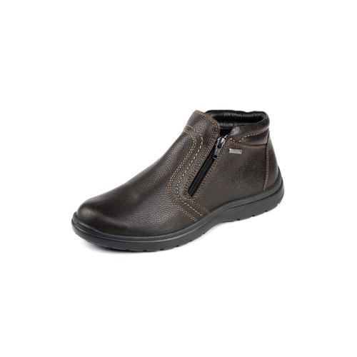 Avena Herren Bequem-Boots wasserabweisend Braun
