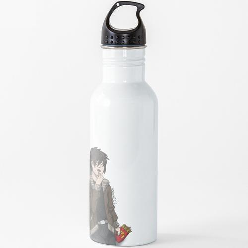 Nico und McDonalds Wasserflasche