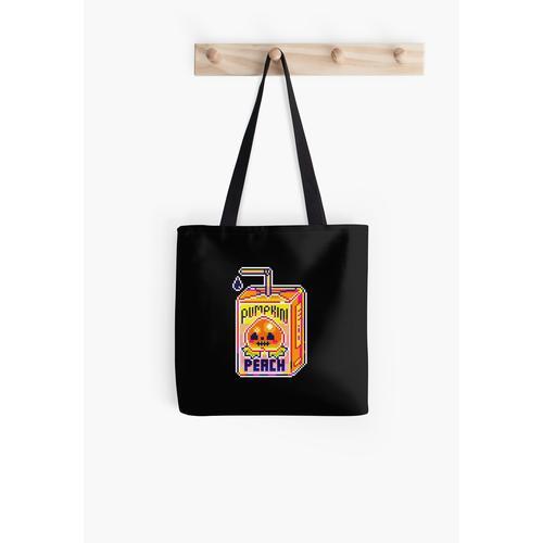 Kürbis-Pfirsich-Saft Tasche