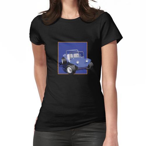 Blue Dune Buggy Manx Blue Box Frauen T-Shirt
