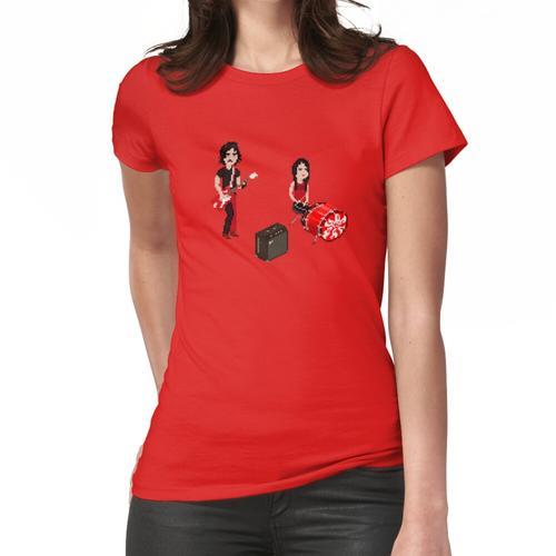 Der härteste Knopf zur Knopf Frauen T-Shirt
