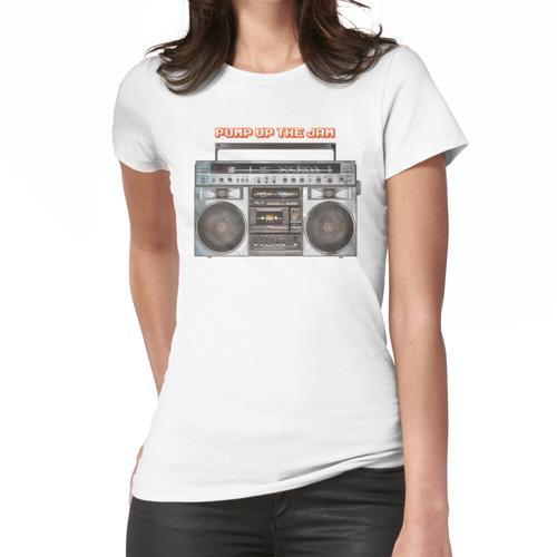 Den Jam aufpumpen Frauen T-Shirt