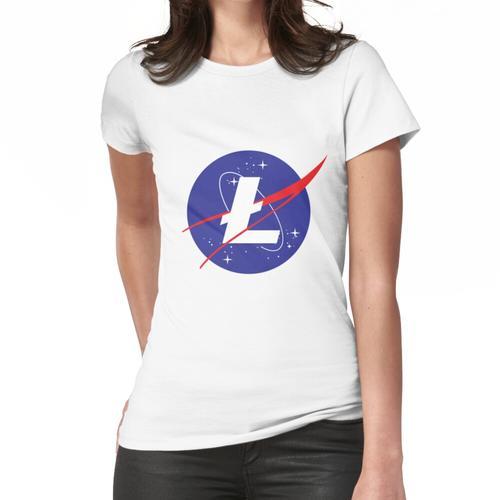 Litecoin - NASA Frauen T-Shirt