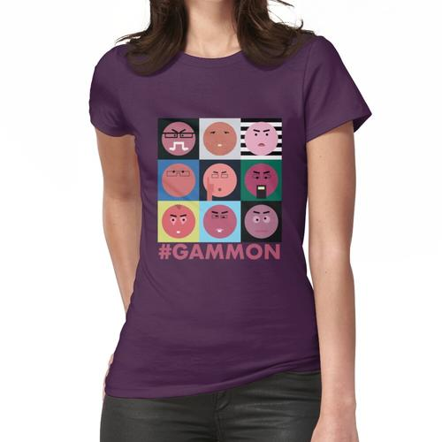 # GAMMON - HASHTAG GAMMON - WALL OF GAMMON Frauen T-Shirt