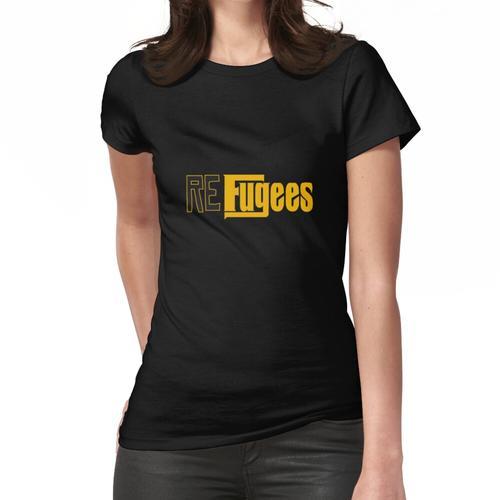 Flüchtlinge Frauen T-Shirt