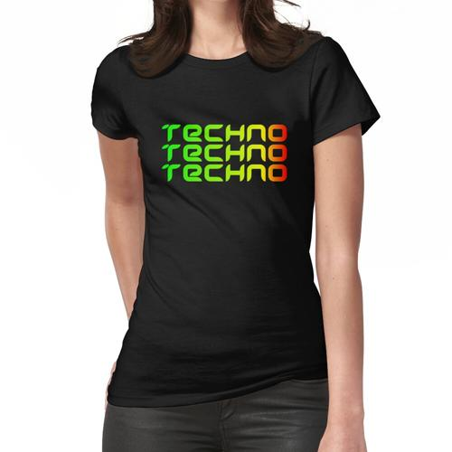 Techno Techno Techno Frauen T-Shirt