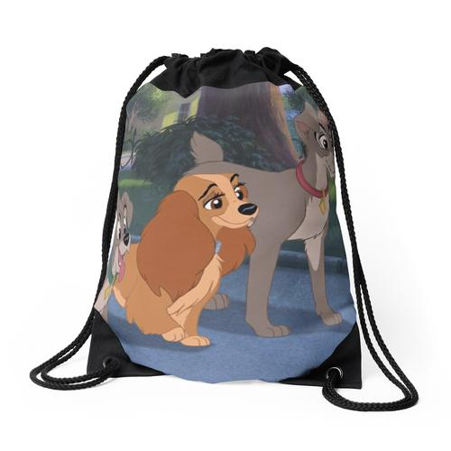 Lady and the tramp 2 Rucksackbeutel