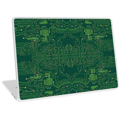 Computer-Motherboard-Muster Laptop Skin