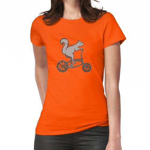 Eichhörnchen auf Fahrrad Frauen T-Shirt