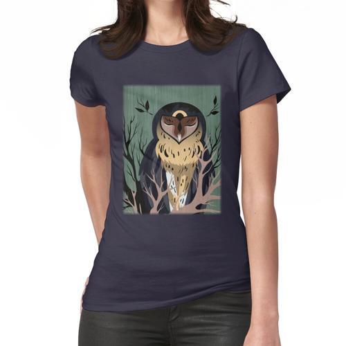 Holzeule Frauen T-Shirt