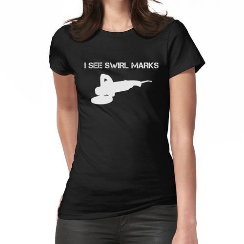 Autopflege T-Shirt Autowaschanlage Autopflege Polierer Frauen T-Shirt