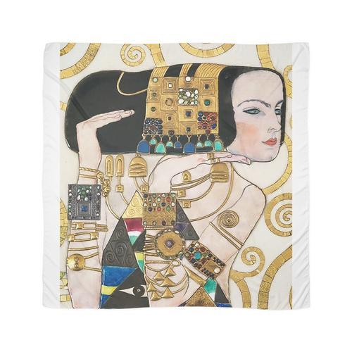 Frau mit Goldschmuck .... Jugendstil-Jugendstil Tuch