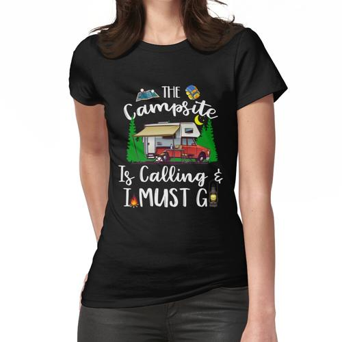 Camping-Shirt Der Campingplatz ruft und ich muss gehen Frauen T-Shirt