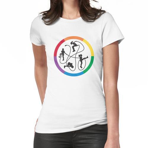 Jumpers & Levels Frauen T-Shirt