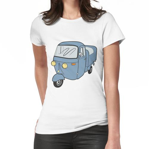 Ape Vespacar Dreirad Frauen T-Shirt