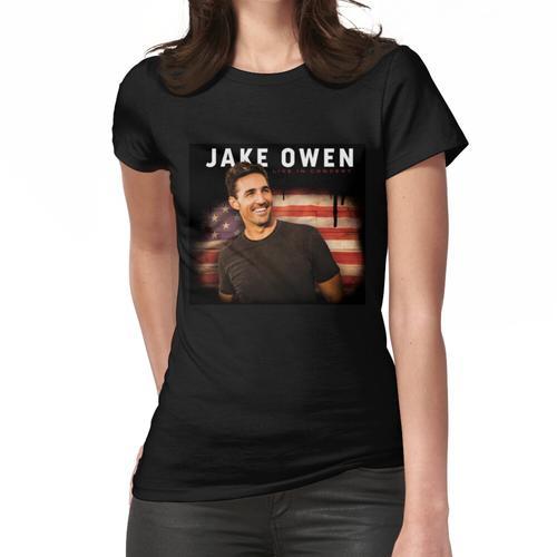 jake tour owen 2019 usa akimcoka Frauen T-Shirt