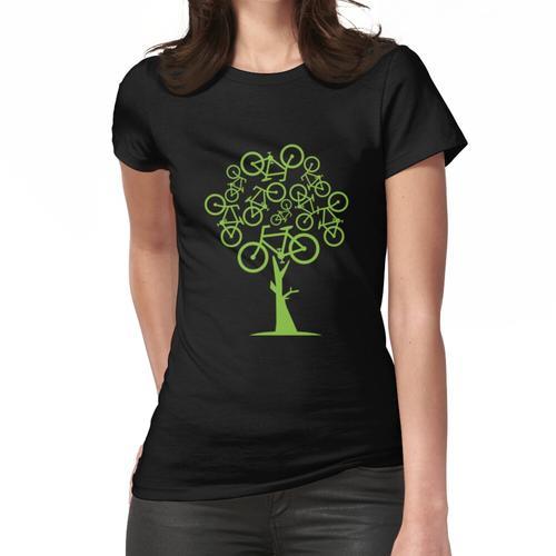 Fahrradbaum Frauen T-Shirt