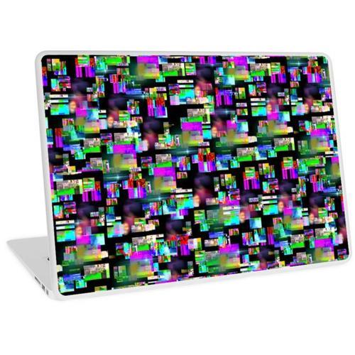Defekter Fernseher Laptop Skin