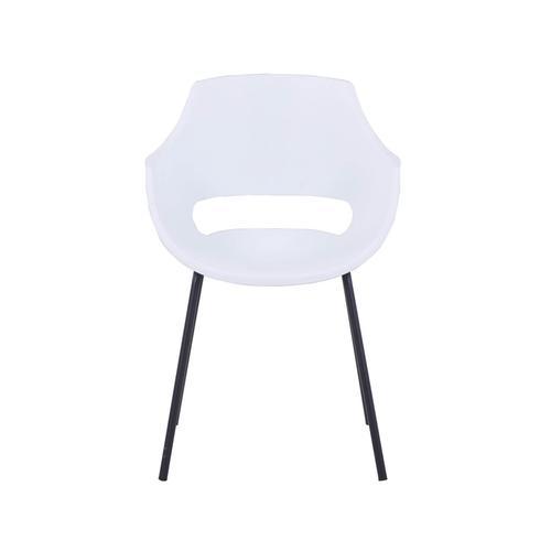 SIT Armlehnstuhl, 2er-Set Kunststoff 2459-21 / grau