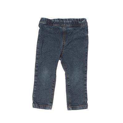 Hema Jeans - Elastic: Blue Botto...