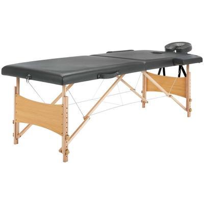 Vidaxl - Table de massage avec 2...