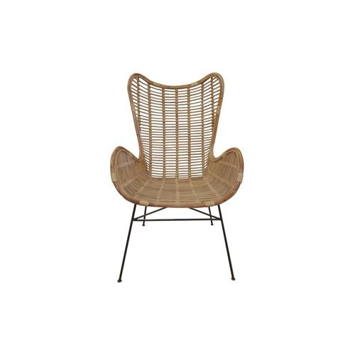 SIT Rattan Vintage Sessel 5341-01 / B 75 x H 113 x T 84 cm