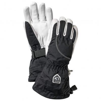 Hestra - Women's Heli Ski 5 Finger - Handschuhe Gr 7 schwarz/grau