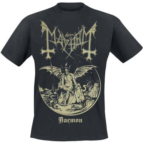 Mayhem Daemon Herren-T-Shirt - schwarz - Offizielles Merchandise