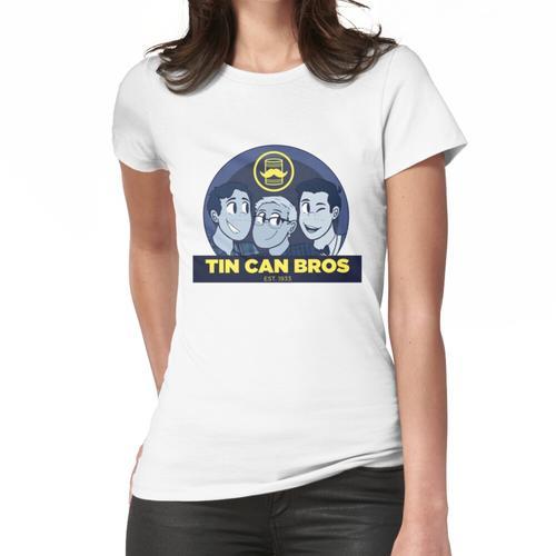 Blechdose bros Frauen T-Shirt