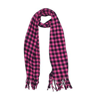 Scarf: Pink Checkered/Gingham Accessories