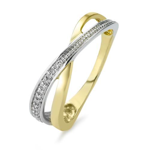 Ring 375 mit Diamanten