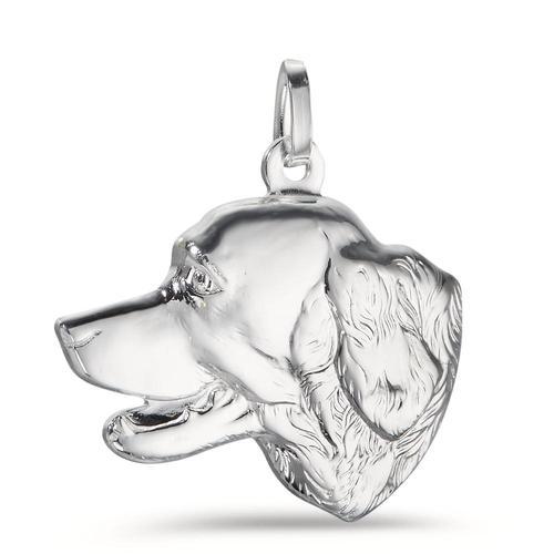 Anhänger Silber Hund