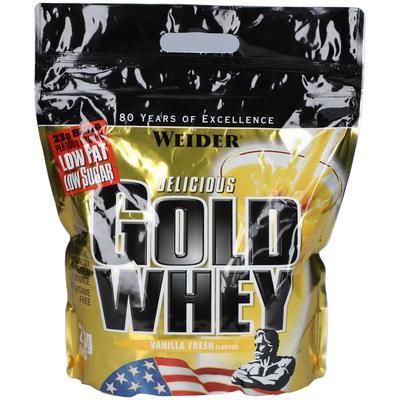 WEIDER® GOLD WHEY PROTEIN VANILL...