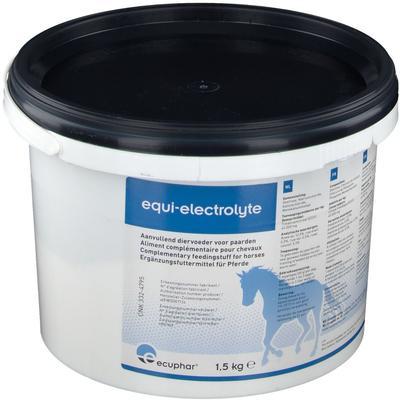 ecuphar® equi-electrolyte kg poudre