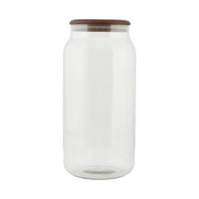 House Doctor - Oak Storage Jar - O