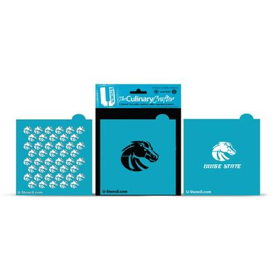 Boise State Broncos Culinary Crafter Stencil Set