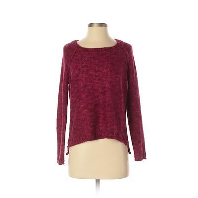 Kensie Pullover Sweater: Pink So...