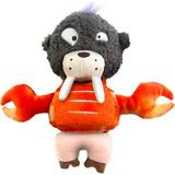 Zee.Dog Seapork Squeaky Plush Dog Toy