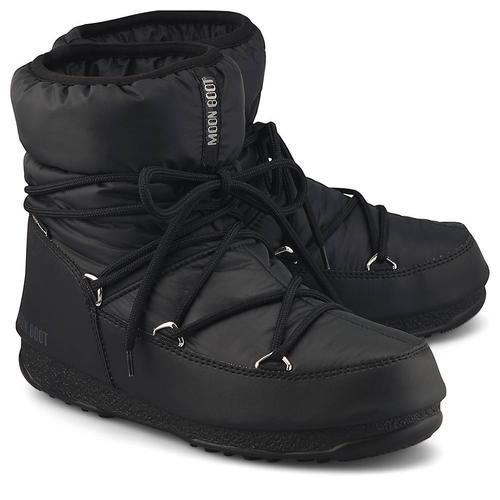 Moon Boot, Moonboots Low Nylon Wp2 in schwarz, Boots für Damen Gr. 40