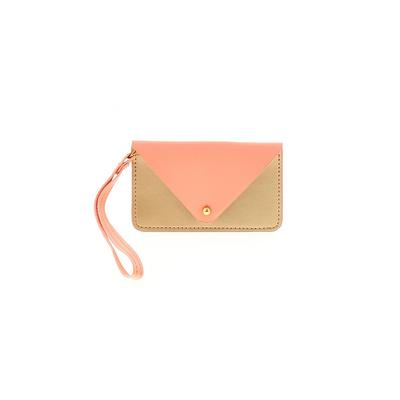 Minor History Wristlet: Pink Color Block Bags