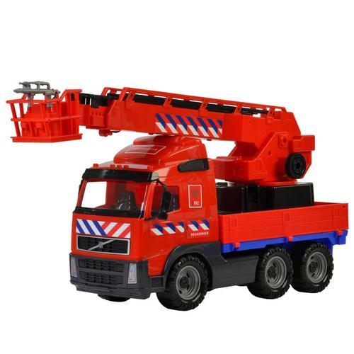 Polesie Spielzeug-Feuerwehrauto Volvo Rot