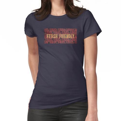 FFOO4PREACHDISTRESSED Frauen T-Shirt