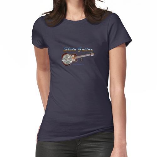 Slide Gitarre Frauen T-Shirt