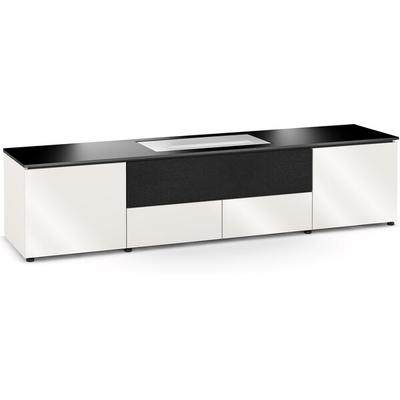 Salamander Designs Miami 245 Cabinet for LG UST Projector Gloss White, Black Top