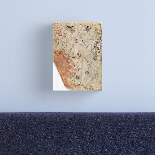 The Piri Reis World Map Canvas Print