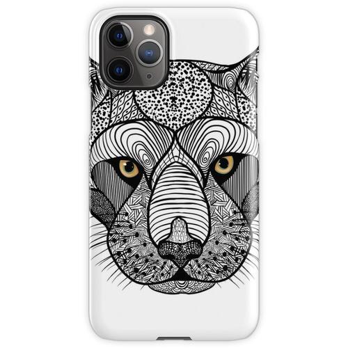 Panther, Panthera Onca, Zen Tangle iPhone 11 Pro Handyhülle