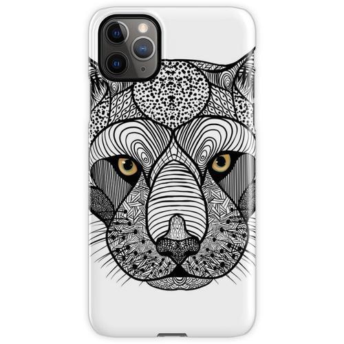 Panther, Panthera Onca, Zen Tangle iPhone 11 Pro Max Handyhülle